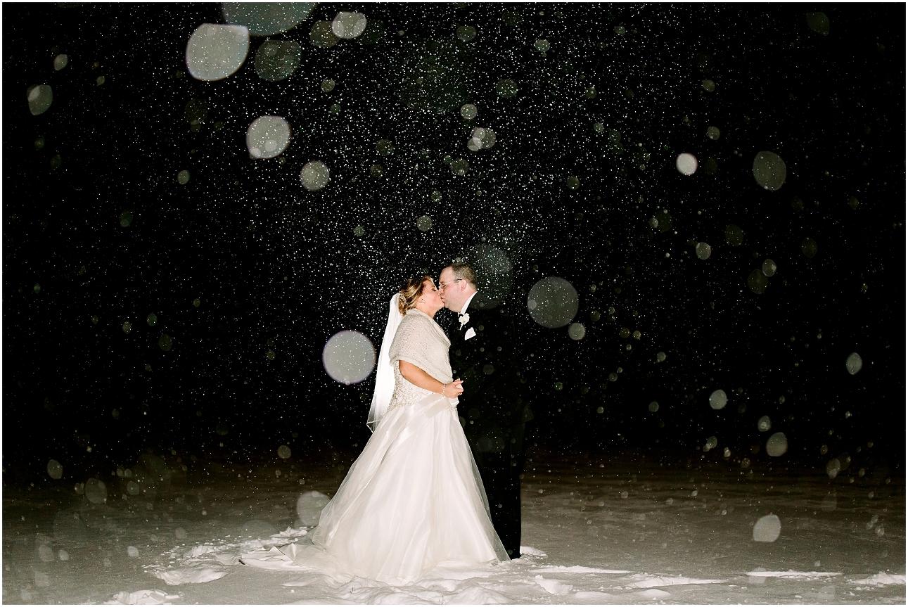 Winter Wedding In Machusetts